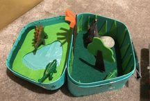 Kufricky / Moje vlastne diy kufriky pre deti.:)
