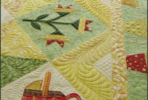 Great Quilting / Wonderful stitching on quilts.