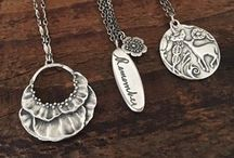 Necklaces from Kristin Larson Jewelry