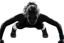 MMA fighter training