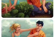 Percabeth and other Percy Jackson ships