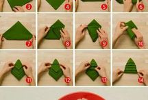 how to fold napking