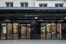 52 Faubourg Saint Denis / Rénovation d'un restaurant   Paris, France   Maître d'ouvrage : SAS Covi   Architecture d'intérieur & décoration : Gesa Hansen   Studio Vincent Eschalier - Architecture & Design