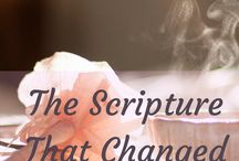 Scripture that changed everything