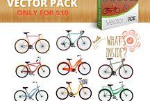 Bikes Vector Pack
