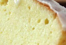 Zitronen Rührkuchen