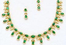 Diamond Gemstone Necklace