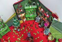 MIS ESCENAS NAVIDEÑAS ( mias) / Minis navideñas