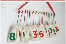 DIY Christmas calendars