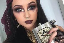 pirate make-up