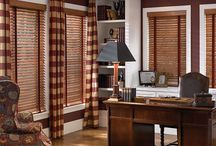 Wood Blinds / For when only the real thing will do.