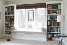 book case window seat
