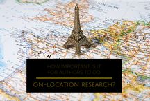 How Important Is It for Authors to Do On-Location Research? / The Importance of doing On-Location Research for Authors