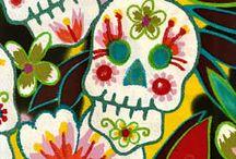 CANDY SKULLS. ANF MORE SKULLS / by Bobbie Gleason