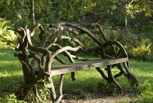 Gardens and Gardening porches and decks / by Jacqueline Marchant