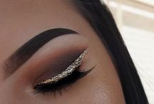 Eyes makeup 3 / Glitter eyeshadow