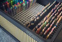 organizing my art supplies