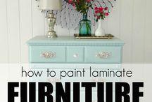 Casa mobili da colorare