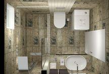NATURAL EFFECT / Πρόταση και Τρισδιάστατος σχεδιασμός για ανακαίνιση μπάνιου σε κατοικία στην Θεσσαλονίκη.