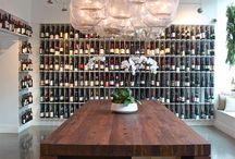 Wine shop tasting rooms