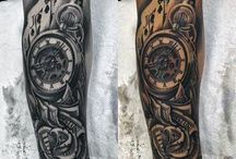 Férfi tetoválás