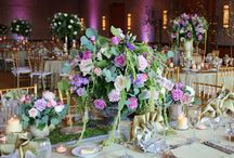 Kensington Floral Centerpieces - Sample of past special event and wedding work / Uniquely tailored floral centerpieces for our brides & grooms.