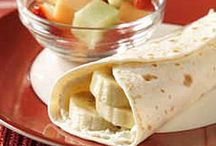 Breakfast, Lunch, & Snack Ideas for Cameron
