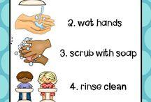 Hand washing chart