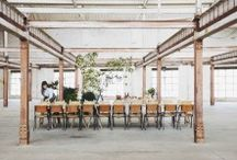 Natty Dining Tables / we love to eat at a beautiful table