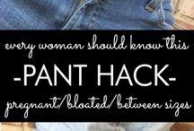 trucchi per abbigliamento/ clothing hack