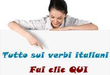 Verbi-italiani.net / Tutto quello che c'è da sapere sui verbi italiani