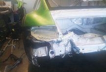 Porsche 911 Cup / Unfallinstandsetzung bei einem Porsche 911 Cup