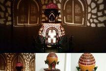 Su kabağı lamba izmirim / My gourd lamps
