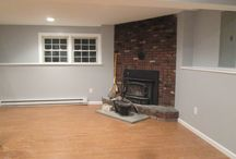 BBB Fireplaces / Something so simple can be transformed into the best center piece of your basement.