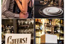 Mariage art déco rétro / Des idées pour un mariage rétro art déco - Art deco wedding inspiration