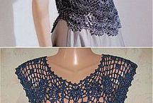 Crochet blousses and more