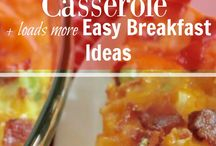 Easy Breakfast Ideas / Life gets busy but that doesn't mean we still can't enjoy a nice breakfast casserole here and there. Check out these easy breakfast ideas to get you going whether you're looking for breakfast for dinner, breakfast for a crowd or breakfast for kids. See more easy breakfast ideas --> http://couponcravings.com/easy-breakfast-ideas/