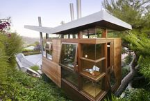 """Treemendous Treehouses / Live like """"The Swiss Family Robinson"""" but with some California touches."""