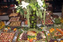 Stunning Food Displays / Taking the buffet table up a couple notches.