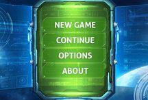 SciFi Game UI