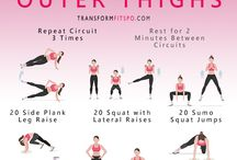 EXERCISE ; Lower Body ♡