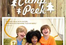 Camp Peek! / Let's go camping!