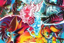 Crash Bandicoot and friends