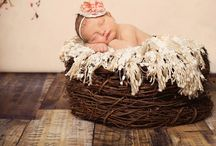 Posed newborn shoot