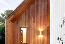 wooden fasades