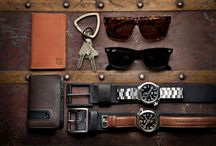 Men's Accessories & Finishings / by Eileen C