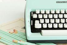 Máquinas de escribir/Typewriters