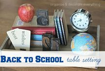Back to School decorating - Embrace it!