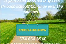 Summer Programs / A collection of the programs Therapy and Learning Services, Inc offers throughout the year. #speechtherapy #readingremediation #studyskills Learn more at www.therapyandlearningservices.com