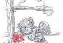Teddy bears - Tatty Teddy